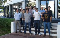 Alumnos del master de materiales poliméricos de AIMPLAS