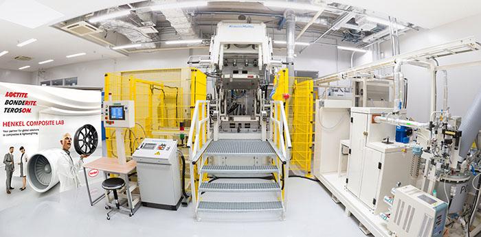 Henkel composite lab