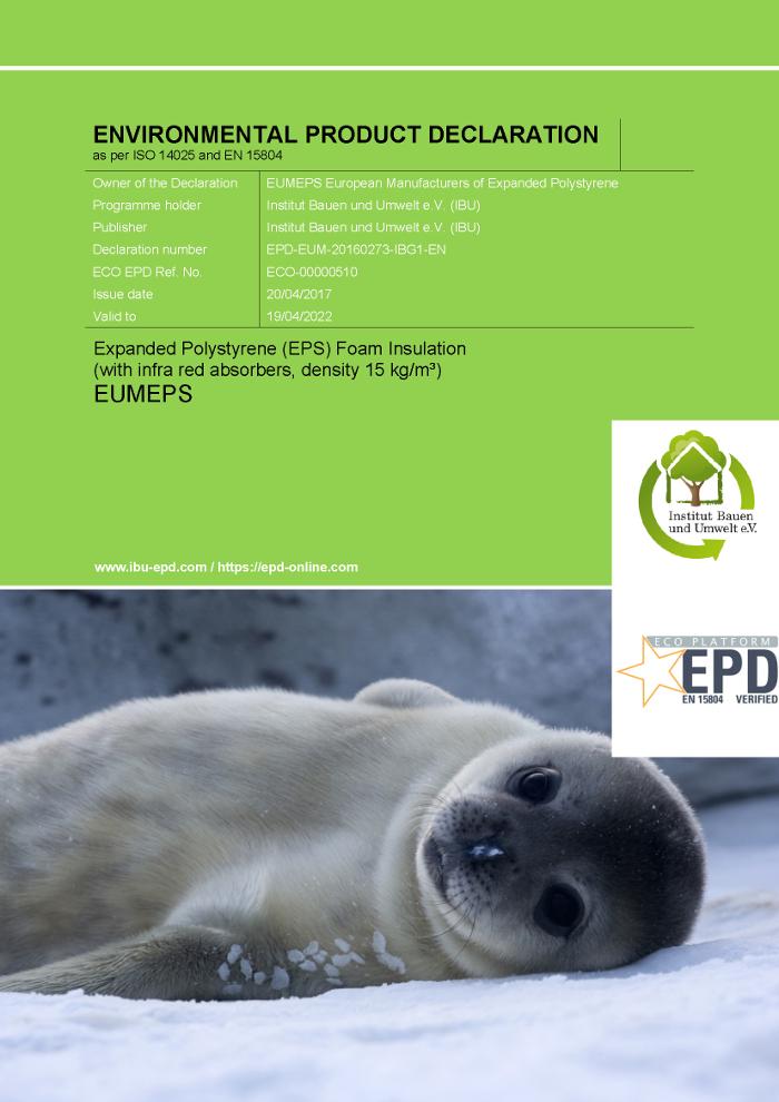 Actualización de las Declaraciones Ambientales del sector del Poliestireno