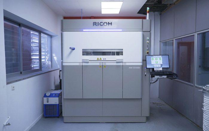 Ricoh , fabricación aditiva, Universitat Politècnica de Catalunya, impresión 3D, Fundación CIM, CIM, UPC, Ricoh Additive Manufacturing Centre,