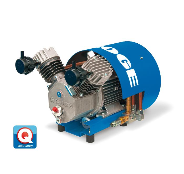 Compresores de pistón P1 L y P2 L, de Boge