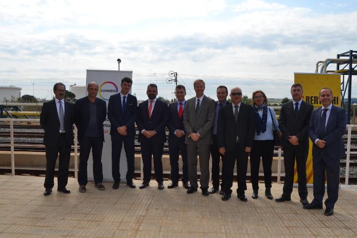 Juan Barios, Coordinador del Corredor Mediterráneo, Andrea firenze, covestro, hub logístico, corredor del mediterráneo