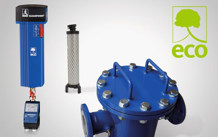 Beko Technologies, separación de aerosoles, Softpleat, Clearpoint 3eco, elementos filtrantes, aire comprimido,