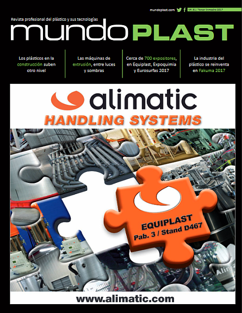 revista MUNDOPLAST, mundoplast 51, revista del plástico, equiplast, globalcc