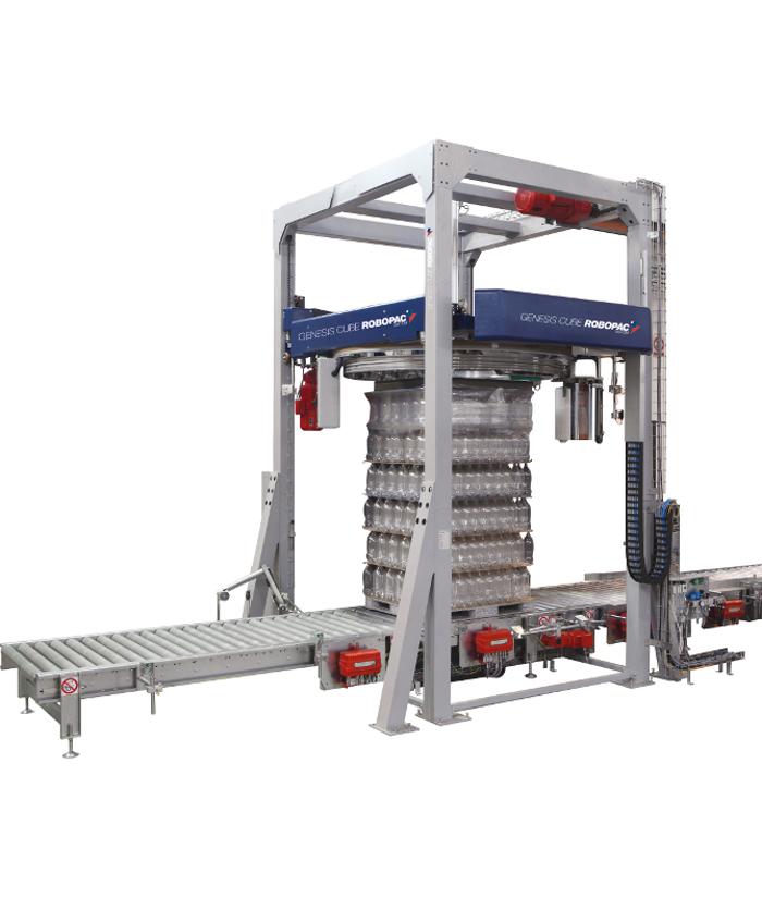 La Envolvedora Génesis de Robopac acerca a Dowal Laboratorio de Simulación de Transportes