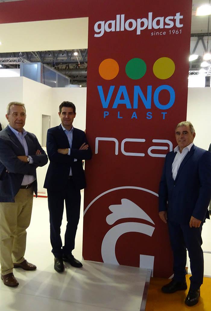 Galloplast, NCA, integración, aditivos para plásticos, masterbatch, Sherpa Capital, integración, servicio, plataforma europea