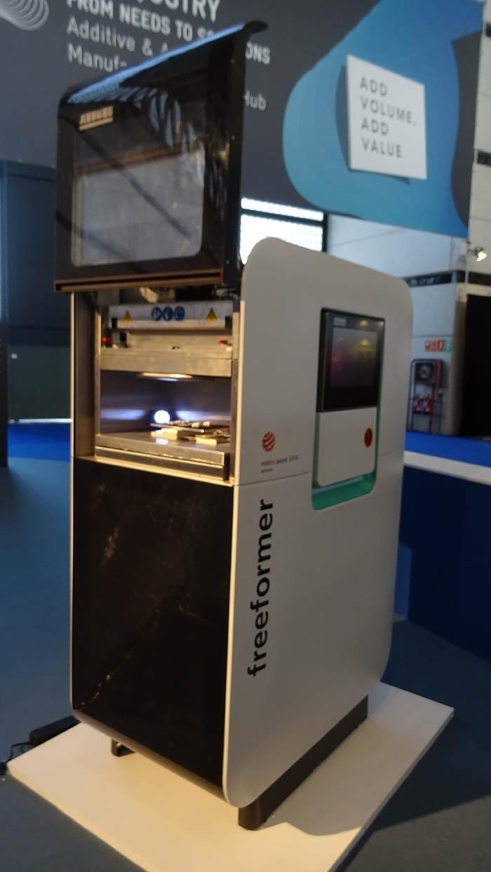 in(3D)ustry, fabricación aditiva, impresión 3D, HD, Freeformer, Ricoh, feria, Equiplast