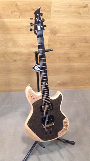 Eurecat presentó una guitarra de composite en MetalMadrid 2017