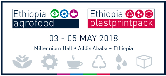 Segunda edición de agrofood & plastprintpack Ethiopia, en 2018