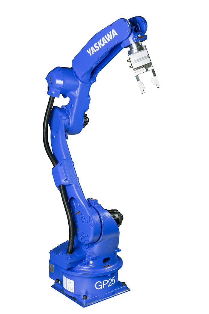 Robot GP25 Yaskawa Motoman para una manipulación rápida y eficiente