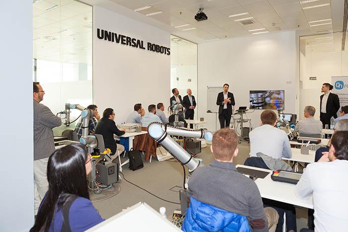 Barcelona acoge un evento sobre robótica de los fabricantes OptoForce y ON Robots