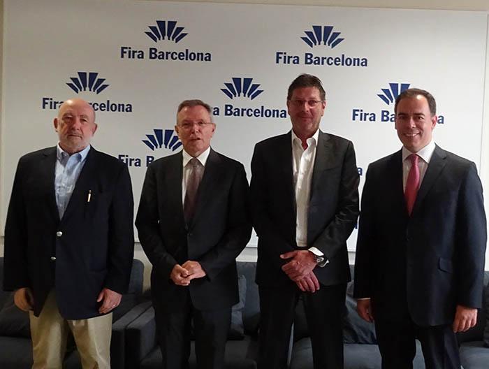 presidentes Expoquimia, Eurosurfas y Equiplast