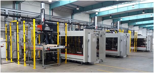 El sector de la maquinaria para plásticos, esencial en Italia