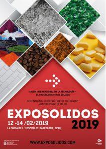 Los próximos 12, 13 y 14 de febrero, en el recinto de La Farga de L'Hospitalet de Llobregat (Barcelona), se celebrarán los salones Exposólidos y Polusólidos junto con sus respectivas jornadas técnicas.