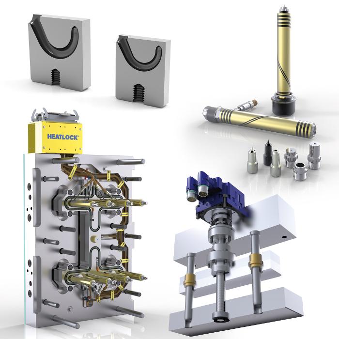 I-mold, accionamientos lineales servoeléctricos, Servomold, Fast Half, Fakuma, TGHL , TGLL, TG, boquillas de canal caliente, insertos de entrada de túnel, moldes, inyección,