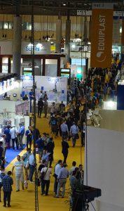 Equiplast, feria equiplast, Fira Barcelona, Barcelona Indutry Week, Expoquimia, Eurosurfas, visitantes, sector del plástico, Plasticseurope