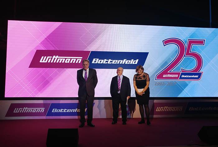 25 aniversario de Wittmann Battenfeld España, filial española, inyección, inyectoras, Hordi Farrés, Remei Margarit, Werner Wittmann