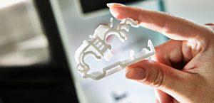 freeformer, fabricación aditiva, formnext, formnext 2017, Arburg, piezas funcionales, polipropileno, materiales, prototipado, sistema abierto, freeformer, pinzas funcionales, impresión 3D, inyección de plástico