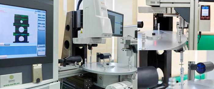Sariki, Sariki metrología, novedades MetalMadrid 2017, Feria MetalMadrid, MetalMadrid 2017, inspección de piezas, brazo de medición, medición y control, Tumaker, robot, Kreon Technologies