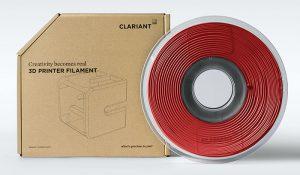 Clariant 3D Printing, Clariant, impresión 3D, filamentos, plástico, aditivos, bobina, impresora 3D, fabricación aditiva, producción a medida