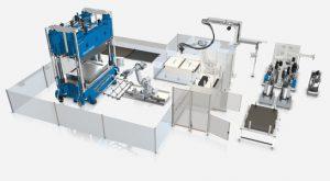 KraussMaffei, JEC World Paris 2018, composites, fiberform, plásticos reforzados, fibra, construcción ligera, automoción, inyección