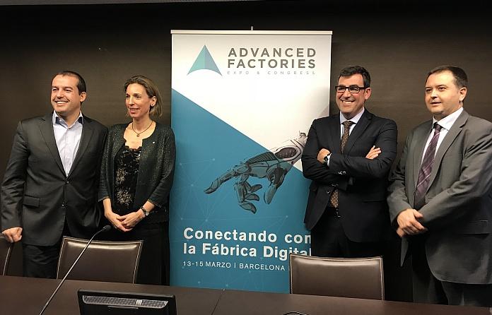 Así será Advanced Factories 2018