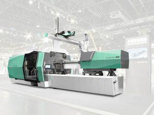 Arburg, Allrounder, NPE 2018, inyectora de plástico, plásticos, allrounder 1120 H, inyectora híbrida, fabricación aditiva, freeformer, plástico