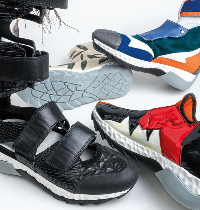 Nuevos zapatos de diseño con poliuretano de BASF