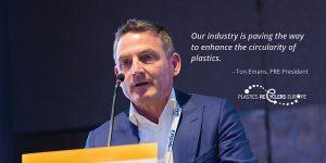 Plastics Recyclers Europe, recilado de plásticos, reciclaje de plásticos, PE flexible, envases, crecimiento, capacidad instalada, economía circular