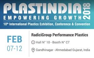 PlastIndia, PlastIndia 2018, feria de plásticos, RadiciGroup, Radilon, Radistrong, poliamida, nylon, plásticos de ingeniería, Radici Performance Plastics