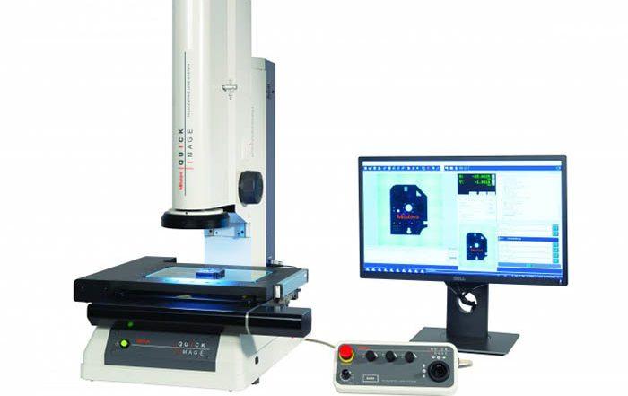 Mitutoyo, sariki, medición, sistema de medición por visión 2D, mesa motorizada