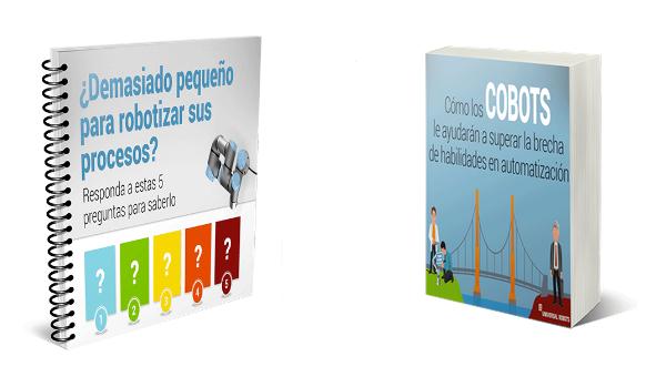 Universal Robots, libro, español, robótica colaborativa, robots, industria, cobot, difusión, pymes, e-books, descargar online, gratuito
