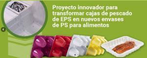 EPS-Sure, proyecto, reciclado cajas eps, poliestireno expandido, economía circular, cicloplast, anape, total, el corte ingles