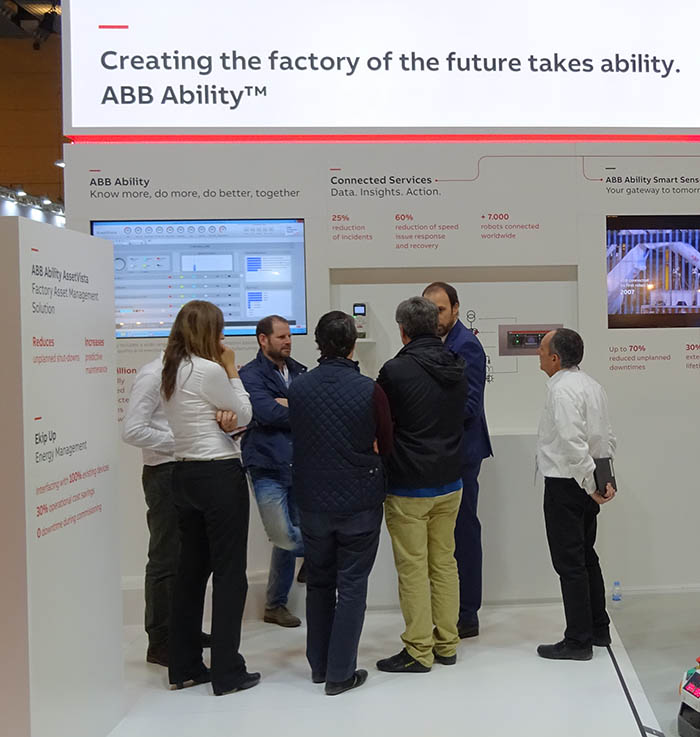 Las novedades de ABB en Advanced Factories 2018