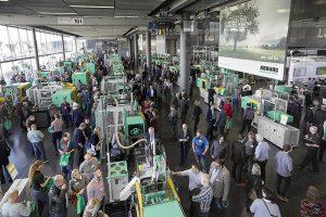 Arburg Technology Days 2018, Arburg, días tecnológicos, lossburg, inyectora para plásticos, inyección de plásticos, fabricación aditiva, procesamiento de silicona líquida, transformación digital, allrounder, freeformer, hidrive, selogica, robots, llave en mano