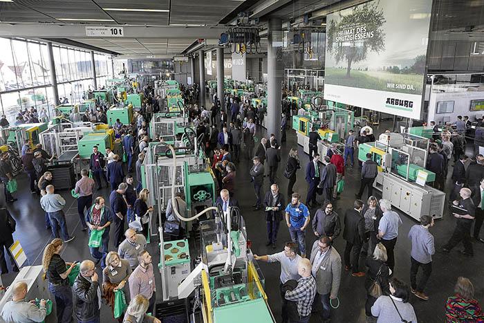 Los Arburg Technology Days 2018 reúnen a cerca de 6.300 profesionales