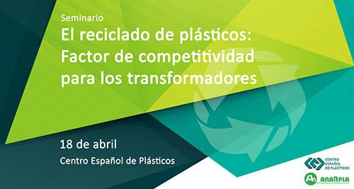 El CEP organiza un seminario sobre el reciclaje de plásticos