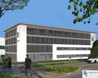 centro de formación Kiefel, maquinaria para plástico, formación, técnicos, aprendices, servicio, maquinaria, electromecánica, nuevo edificio, freilassing, Alemania