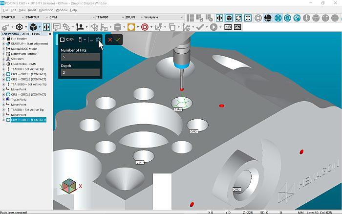 pcDMIS nueva versión, 2018, software de medición, hexagon metrology, Hexagon Manufacturing Intelligence, escaner láser Leica, absolute arm