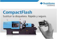Sumitomo (SHI) Demag, kit compact flash, intelect, inyectoras de plástico, sustitución, disqueteras de 3,5