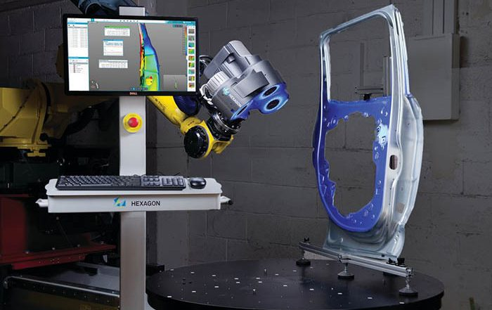 Hexagon, Hexagon Manufacturin Intelligence, escáner, luz blanca, Blaze 600A, medición 3D, medición industrial, captura de datos, medición en taller