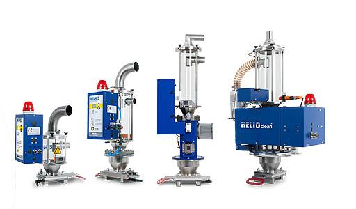 Helio Clean para la despolverización de materiales