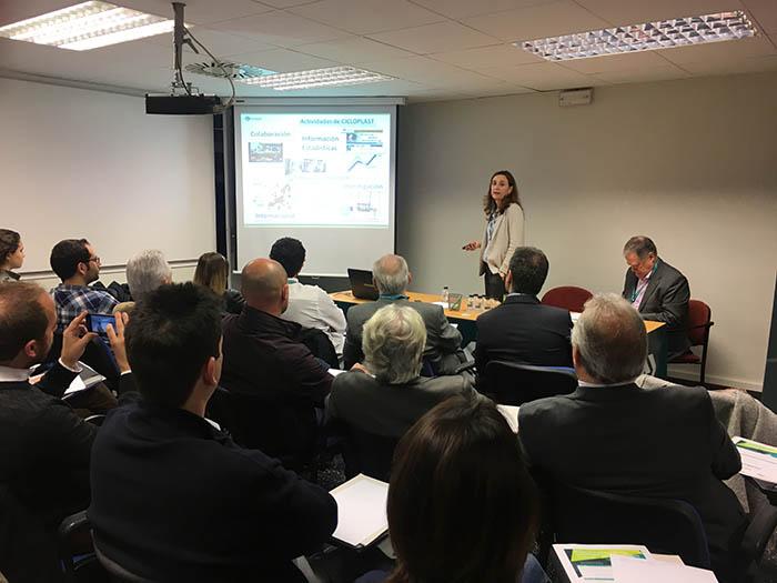 Gran éxito del seminario del CEP sobre reciclaje de plásticos