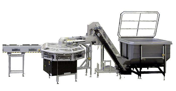 alimentador de preformas, preformas de PET, Sidel EasyFEED, sidel, sopladoras, producción de botellas, botellas de pet, soplado, plástico