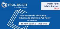 Molecor, Pipes in infraestructure, tuberías de PVC Orientado, PVC-O, tubería de plástico, AMI