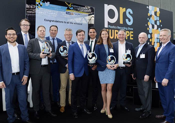 Plastics Recycling Awards 2018, mejores productos con plástico reciclado, reciclado de plásticos, european plastics recyclers