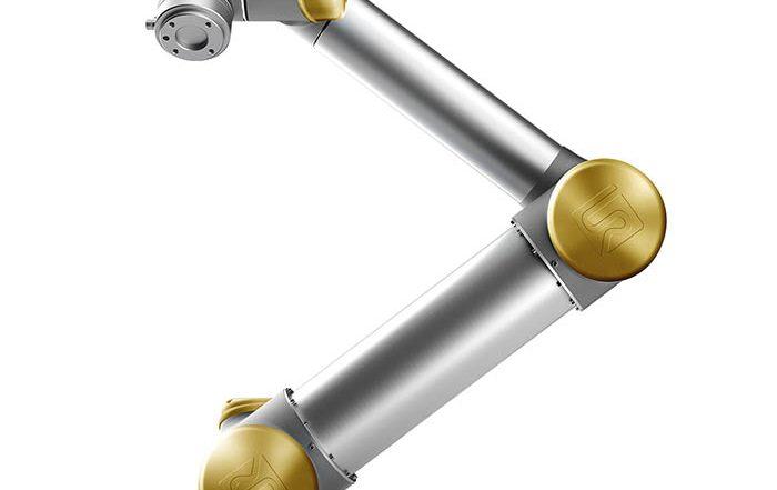 cobots, robot de oro, robótica cloaborativa, unidad 25.000, robot de oro, Universal Robots