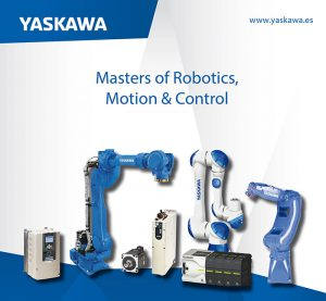 robot, packaging, Yaskawa, Hispack, 2018, motoman HC10, robot colaborativo, Drives, motion, control, terminales HMI, cloudpanel, smartpanel, air gripper