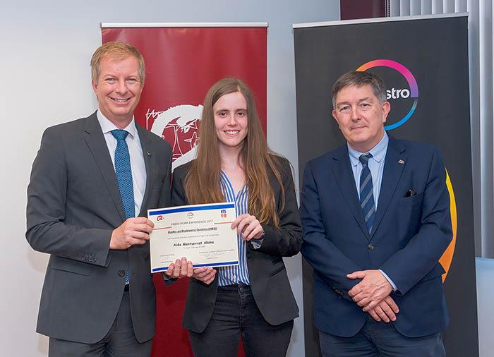 Covestro entrega el premio de jóvenes talentos Work Experience