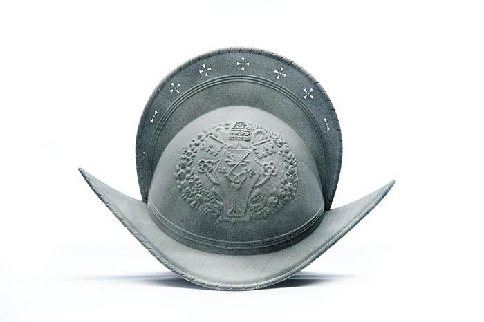 casco guardia suiza impreso en 3D, HP